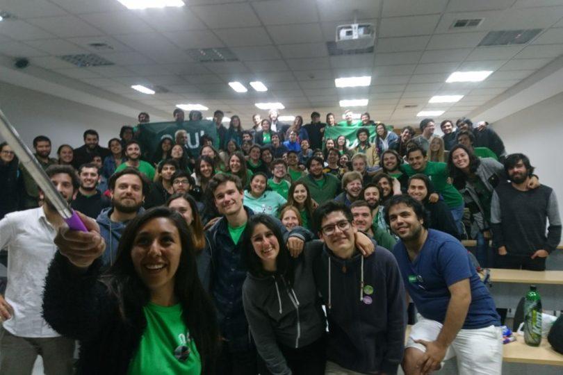Celebra, Jackson: NAU se impone por sólo 505 votos en elecciones de la FEUC