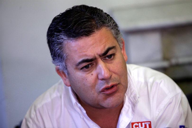 ENAP denuncia agresión de dirigente sindical Nolberto Díaz
