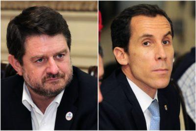 Declaraciones cruzadas entre el alcalde Alessandri y el intendente Orrego por delincuencia en Santiago