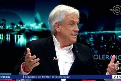"""Piñera: """"Como no va a ser absurdo que los padres gasten plata en whisky y no aporten a la educación de sus hijos"""""""