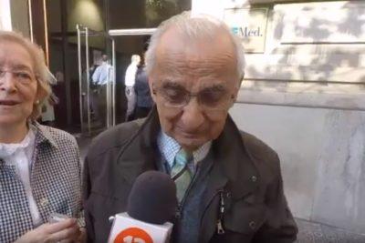 """VIDEO   Chileno de 82 años rompe en llanto en Barcelona: """"No votaba desde el 4 de septiembre de 1970"""""""