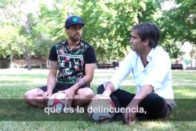 """VIDEO l """"Chile lo pide a gritos"""": Jorge Valdivia entra de lleno a la campaña de Piñera hablando de delincuencia"""