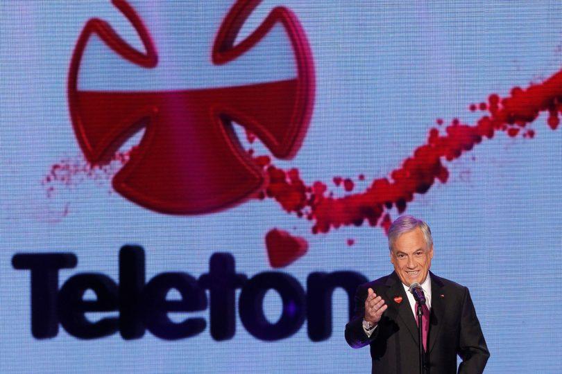Piñera llama a tregua política durante la Teletón tras una semana marcada por las peleas con Guillier