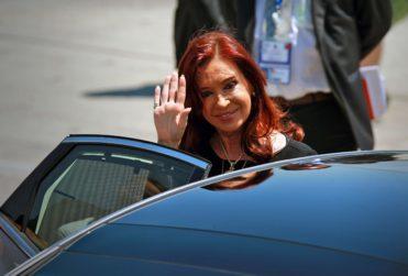 Cristina Fernández se reunió con dirigentes del Frente Amplio en medio de posible desafuero