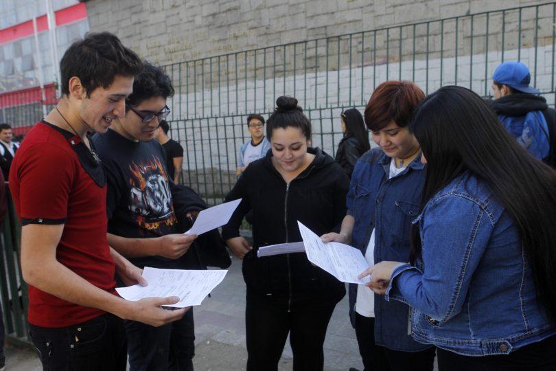 Los puntajes ponderados de la PSU 2018 que exigirán las universidades para poder postular