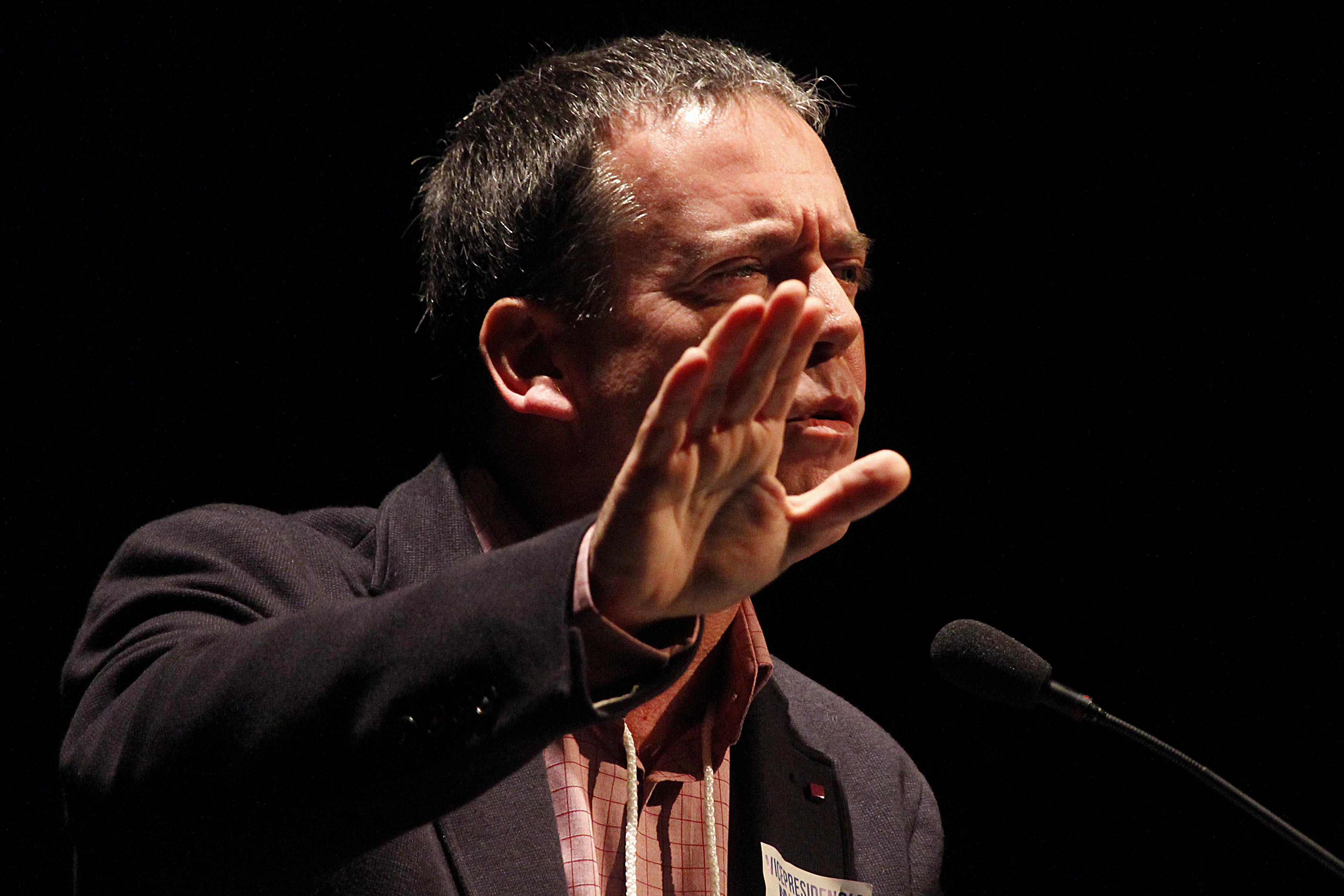 """""""FOTO  Senador Harboe denuncia mensaje a favor de Piñera en cámara secreta: apunta a alcalde RN"""""""