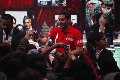 Un minuto de risa: el particular desafío que propuso Pancho Saavedra en la Teletón