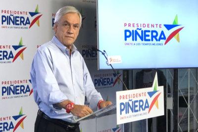 """Piñera reitera acusación de 'votos marcados': """"Nunca puse en duda el sistema electoral"""""""
