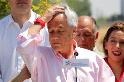 """Piñera admite que resultado de primera vuelta """"fue un remezón"""""""