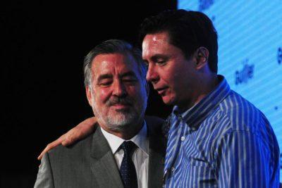 """El misilazo del hijo de Guillier a la Nueva Mayoría: """"Los partidos nunca pensaron que Alejandro iba a ganar"""""""