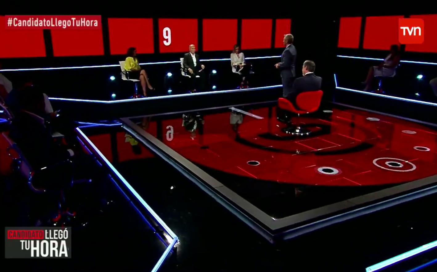 """""""Panelistas desmienten que programa de Guillier en TVN no fuera en vivo y caen críticas a"""