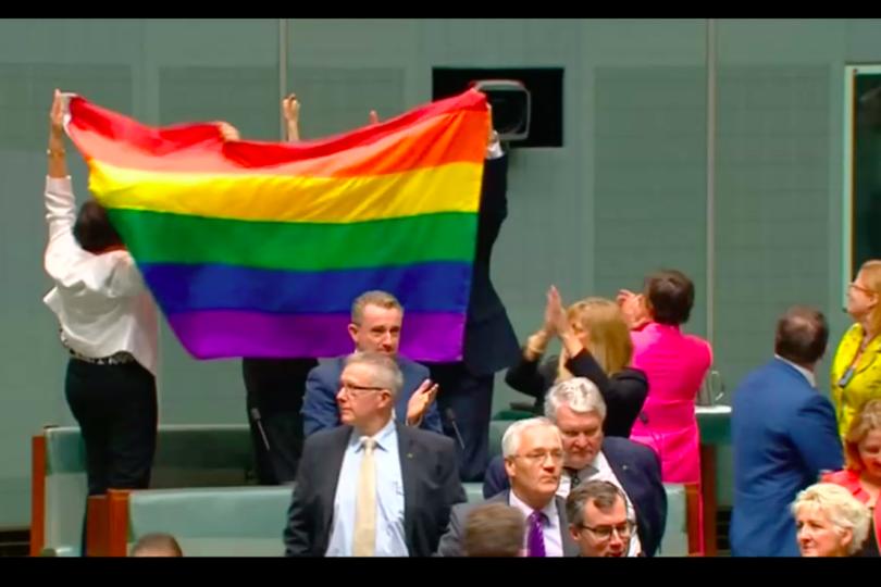 VIDEO | El emocionante momento en que el Parlamento de Australia aprobó casi unánime el matrimonio igualitario