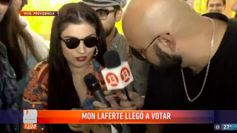 Mon Laferte provocó caos durante su votación y explicó por qué no sufragó en primera vuelta