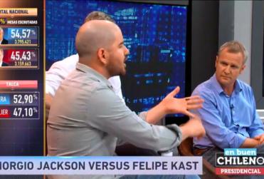 """""""Carerrajismo"""" y """"shhhhh, calladito"""": pelea para enmarcar entre Melnick y Jackson en En Buen Chileno"""