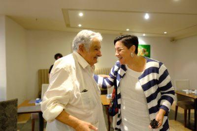 """Beatriz Sánchez tras reunión con Pepe Mujica: """"No por hablar en simple se pierde profundidad"""""""