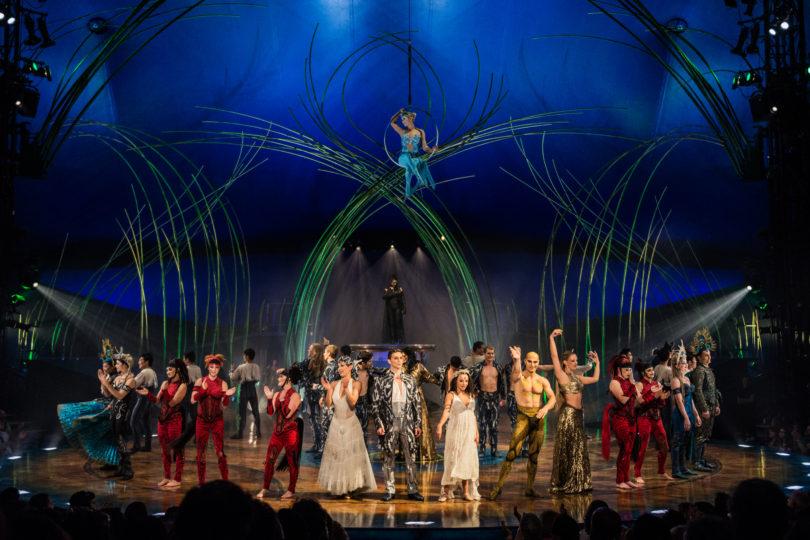 """Cirque du Soleil trae a Chile """"Amaluna"""", un show protagonizado en su mayoría por mujeres"""