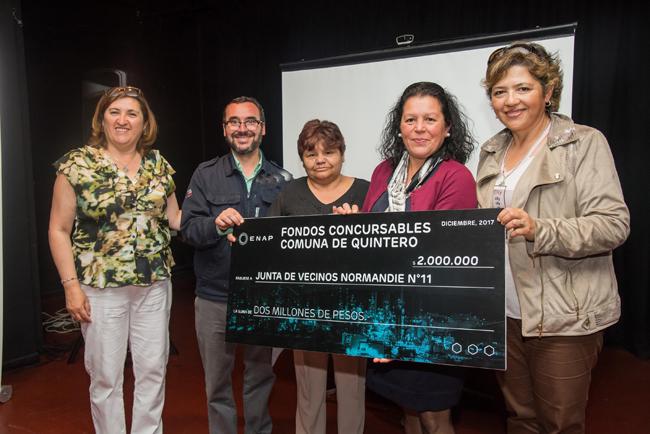 Fondos concursables permitirán desarrollar 31 proyectos comunitarios en Quintero