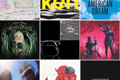 Los diez mejores discos internacionales del 2017
