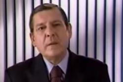 Uno como usted: Arturo Frei Bolívar anuncia con bombos y platillos que votará por Sebastián Piñera