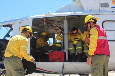 Brigadistas y bomberos del Maule intercambian experiencias en prevención y combate de incendios