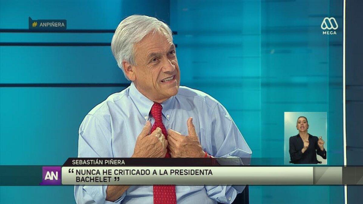 """""""La foto de Piñera que Ahora Noticias borró y que diputado Jackson tomó para hacer un meme"""""""