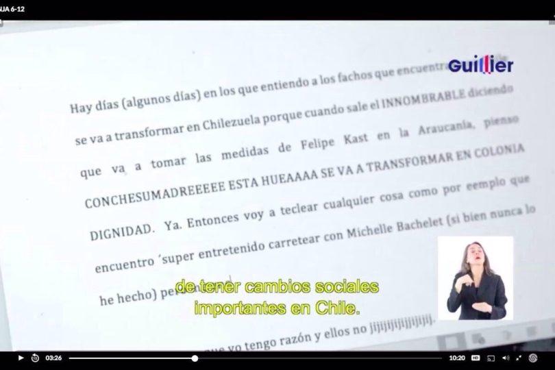 """VIDEO  Insultos incluidos: el """"mensaje subliminal"""" en la franja de Guillier que hizo hervir a la derecha"""