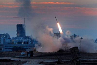 Aumenta la tensión: sistema de defensa antimisiles de Israel interceptó un cohete