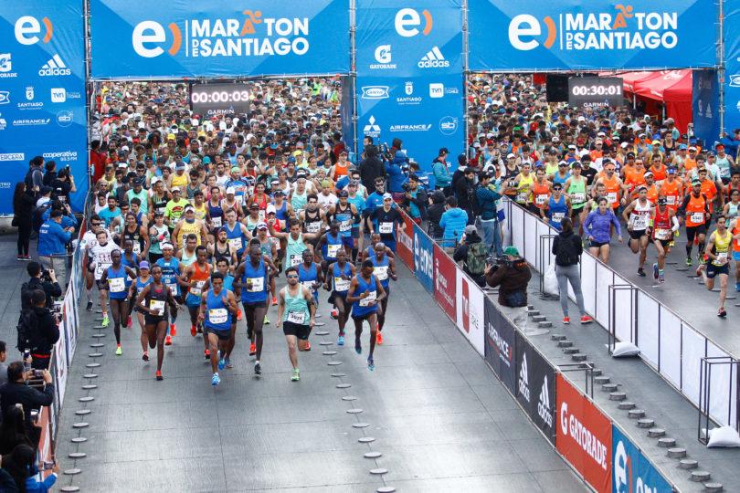 Con récord de adultos mayores concluye el primer período de inscripción al Entel Maratón de Santiago