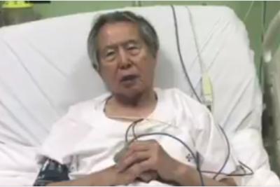 """VIDEO l Desde la UCI, Fujimori pide perdón a peruanos que ha """"defraudado"""""""