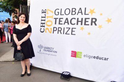 Profesora de Liceo Polivalente de Quirihue entra a la lista de 50 finalistas para el Nobel de la Enseñaza