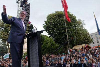 """Luksic y frase de Guillier: """"Genera odio, lucha de clases y división"""""""