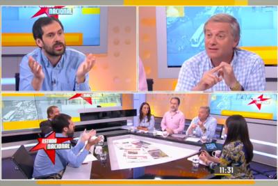 VIDEO | El rostro de Nicolas Grau cuando Kast le recordó en vivo que perdió 120 millones en una fiesta de la Fech