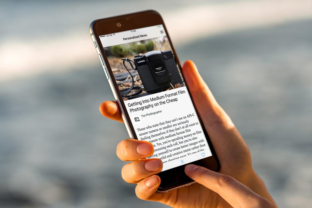 """Lumi News, una app que se vuelve más """"inteligente"""" cada vez que la usas"""