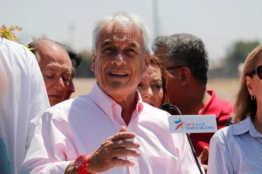 """Piñera y gasto electoral de $3500 millones: """"Sigue siendo una campaña austera"""""""