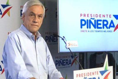"""Piñera: """"Los del Frente Amplio son como los niños, los niños quieren muchas cosas"""""""