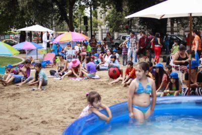 Vuelven las playas de Lavín, esta vez en Las Condes