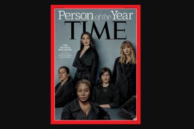 Revista Time elige como personaje del año a víctimas de abuso y acoso sexual que se atrevieron a romper el silencio