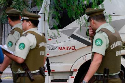 Delincuentes huyen con 480 millones en efectivo tras asalto a Chile Tabacos en Cerrillos