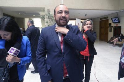Diputado Chahín fue internado de urgencia tras protagonizar accidente automovilístico: está fuera de riesgo vital