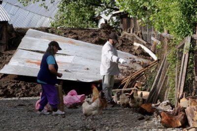 Gobierno comienza a pagar hoy bono mensual de $250 mil a damnificados de Villa Santa Lucía
