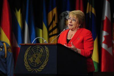 """Presidenta Bachelet y nuevo cargo en la OMS: """"No me voy a ir de Chile, como dicen por ahí"""""""