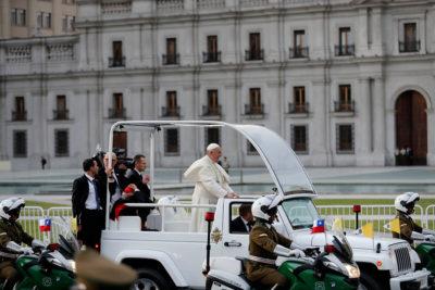 Papa Francisco en Chile, el visitante inoportuno