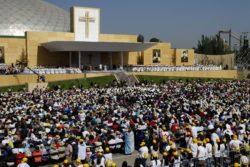 Fuerza Aérea revela impresionante imagen del Parque O'Higgins durante misa del Papa Francisco