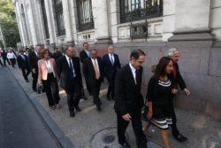 Filtran foto no oficial con el gabinete completo de Sebastián Piñera