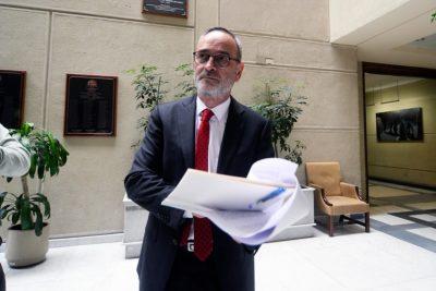René Saffirio llegará al Tribunal Constitucional para evitar que Zaldívar sea parte del Consejo de Asignaciones