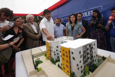 """Alcalde Jadue explica cómo funcionará la """"Inmobiliaria Popular"""" de Recoleta"""