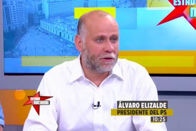 """El llamado de Elizalde a la Nueva Mayoría y el Frente Amplio: """"Si no nos ponemos de acuerdo el gran perjudicado es Chile"""""""
