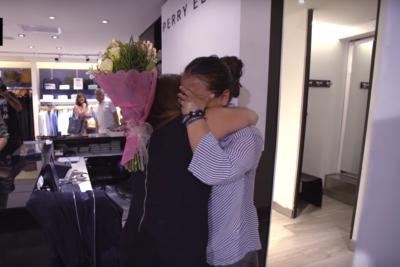 VIDEO  Emotivo video muestra qué pasó con la vendedora agredida por clienta en mall de Las Condes