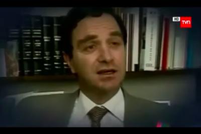 El video que Hernán Larraín quiere enterrar: reviven registro del nuevo ministro de Justicia y DD.HH. inmolándose por Paul Schaffer