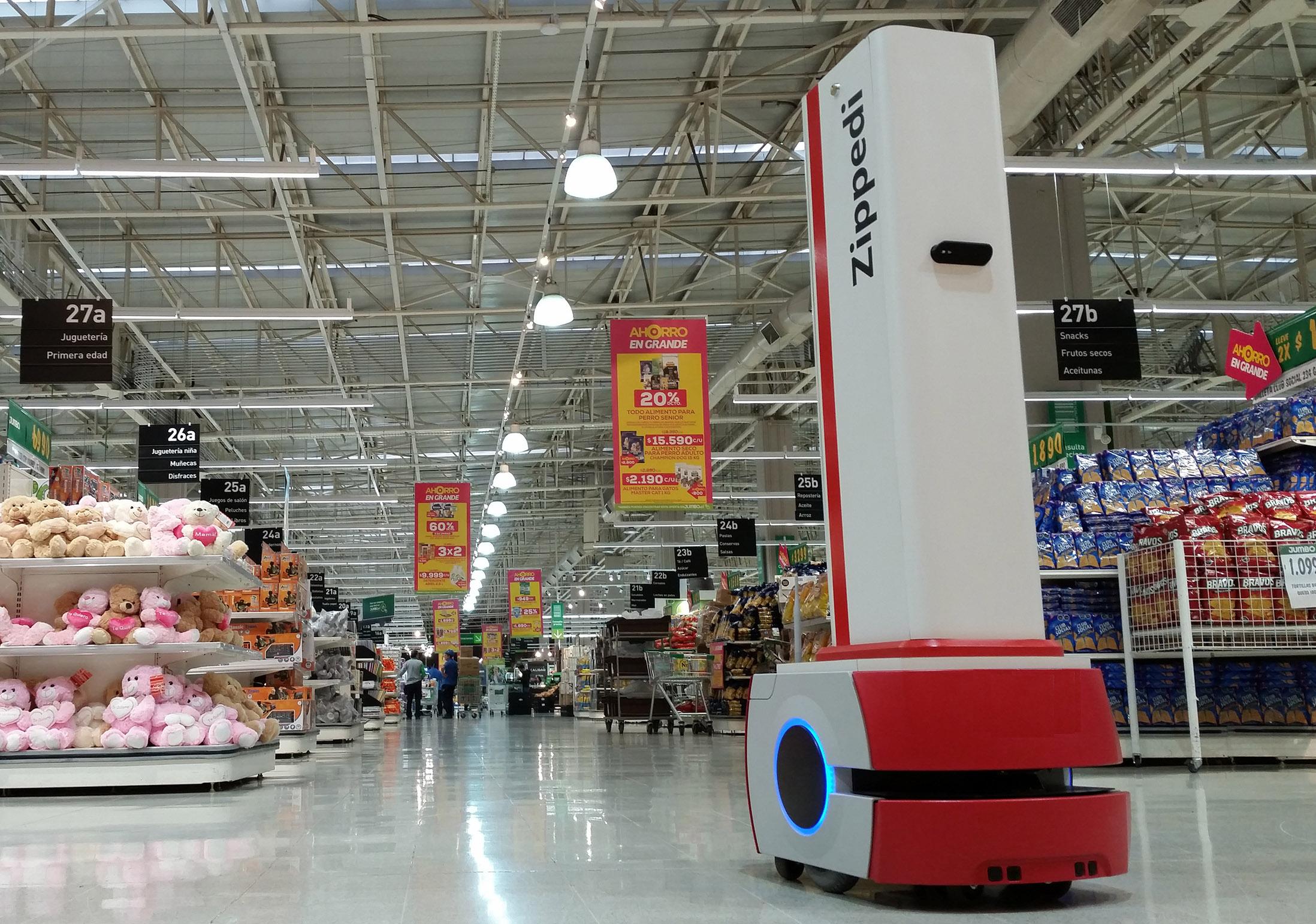 Crean el primer robot chileno con inteligencia artificial para trabajar en supermercados